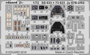 Neu Eduard Accessories CX538-1:72 Phantom FGR.2 for Airfix