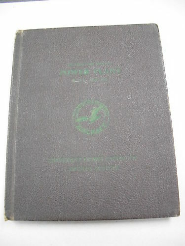 "1943 CONSOLIDATED AIRCRAFT ""POWER PLANT INSTRUCTION MANUAL"" FOR THE B24D!"