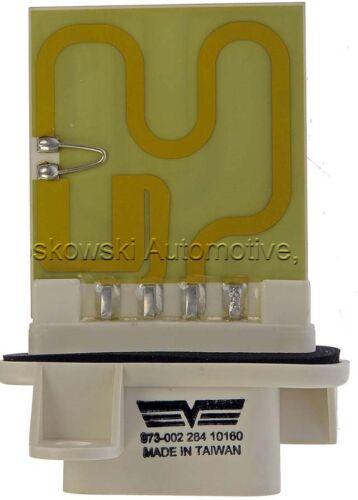 Chevy Cavalier Heater Blower Motor Resistor Pontiac Sunfire Dorman 973-002