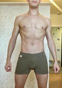 Army man military underwear olive khaki boxers trunks shorts