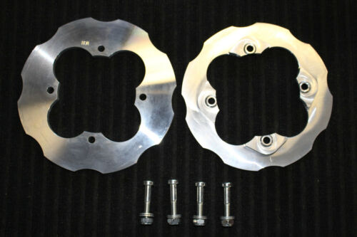 ALL YEARS TRX400 EX ATV Billet Aluminum Dual Sprocket Guard Honda TRX 400EX