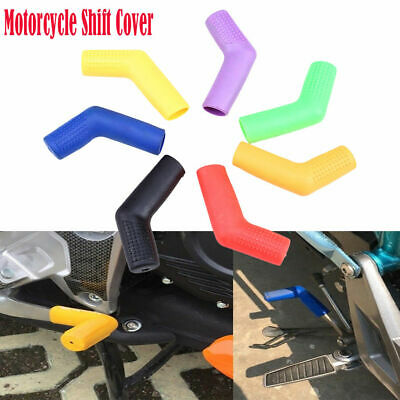 Details about  /1Pc Motorcycle rubber gear shift shifter sock cover boot protector street dir .