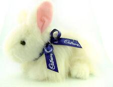 Unique Clucking White Cadbury Bunny - Easter Gift -  Plush Toy