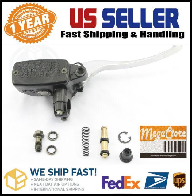 Honda CB 200 350 360 CB400 CB450 CB500 CB550 CB600 Brake Master Cylinder - Black