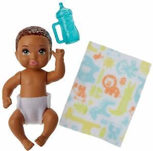 African American Diaper Change Baby NEW Barbie Skipper Babysitters Inc.