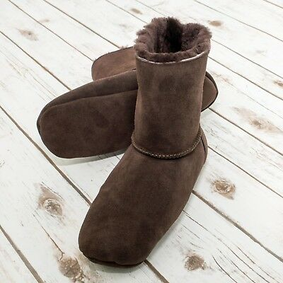Reduced! Sheepland, Genuine Sheepskins Mocha Boots Factory Seconds, Ladies/men Extrem Effizient In Der WäRmeerhaltung