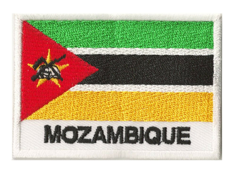 Patch insigne écusson coudre patche drapeau MOZAMBIQUE 70 x x x 45 mm Pays 03cced