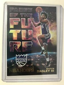 2018-19-Panini-NBA-Hoops-Faces-Of-The-Future-Marvin-Bagley-III-Gold-Parallel
