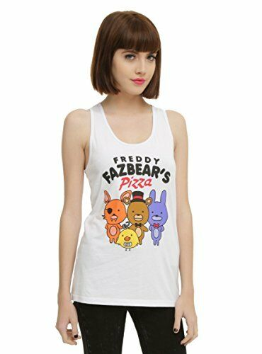 Five Nights At FROTdy's FROTdy Fazbear's Pizza Juniors Tank Top