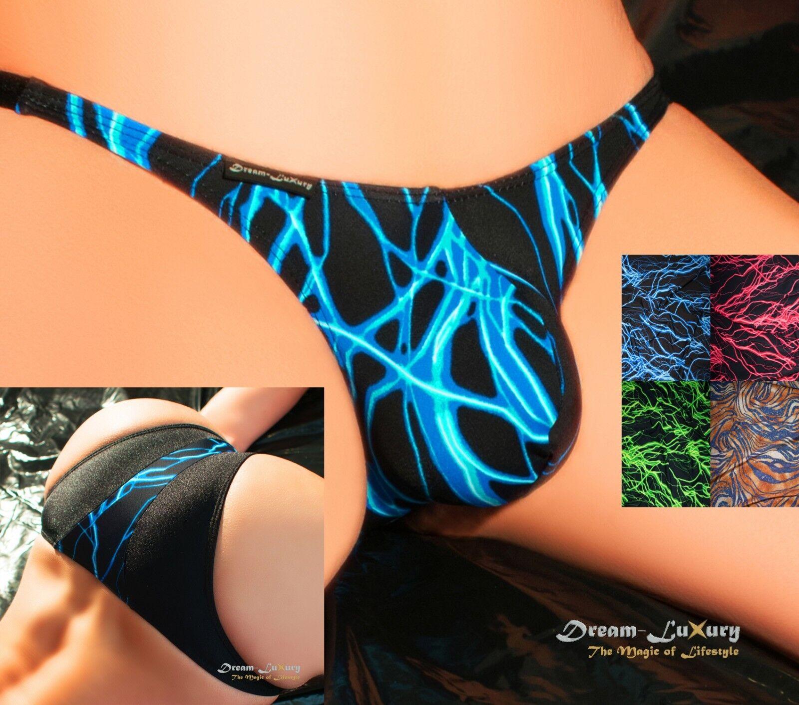 Dream-Luxury Brasil Badetanga   NEON 4 FARBEN XS-XL   Slip Bikini Badehose Brief  | Gutes Design  | König der Quantität  | Gewinnen Sie das Lob der Kunden