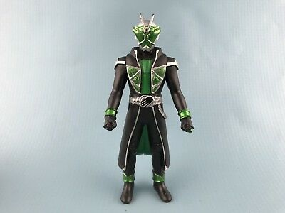 Bandai Masked Kamen Rider Wizard Hero 01 Wizard Flame Form Vinyl Figure