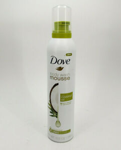 Dove Body Wash Mousse With Coconut Oil 10 3 Oz Can Also Great For Shaving 11111012196 Ebay