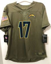 online store a345f 166e5 NFL Nike La Chargers Rivers 17 Salute to Service Jersey ...