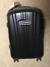 Large Harley Davidson Rolling Hard Side Suitcase Nwt