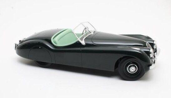 12 Art Fine model AFD1001010 - Jaguar XK120 OTS cabriolet verde - 1953  1 12