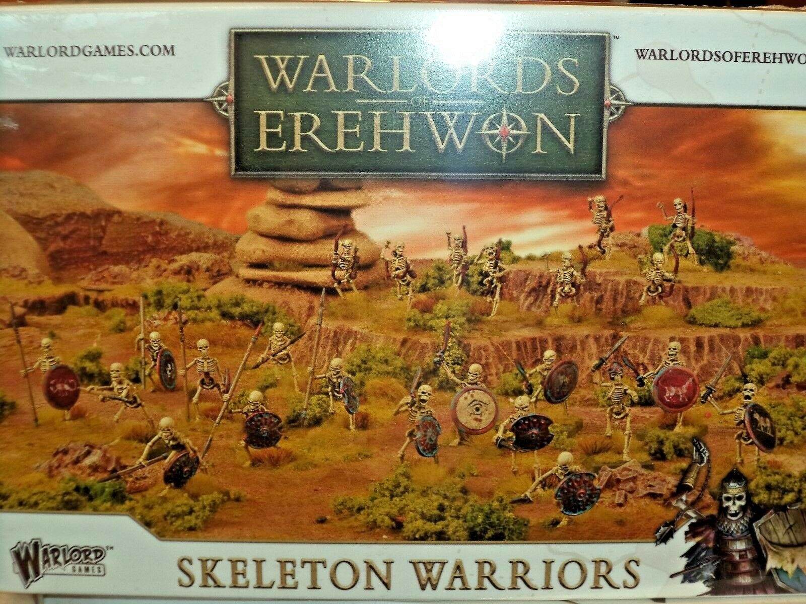 Skeleton Warriors - Warlords of Erehwon Models Warlord Games New