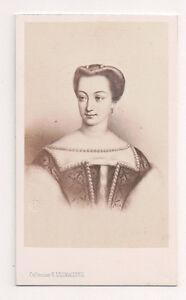 Vintage-CDV-Diane-de-Poitiers-French-noblewoman-E-Desmaisons-Photo