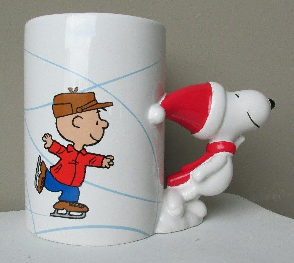 Charlie Brown Christmas Snoopy With Mask Coffee Mug Cute Gift 14 ounce cup Serenity Home Goods
