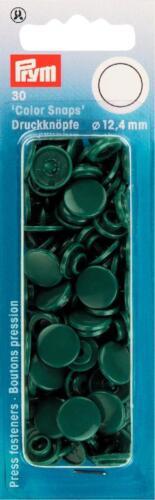 """30 pulsadores 30 colores /""""color Snaps/"""" 12,4 mm prym botones herramienta nähfrei"""