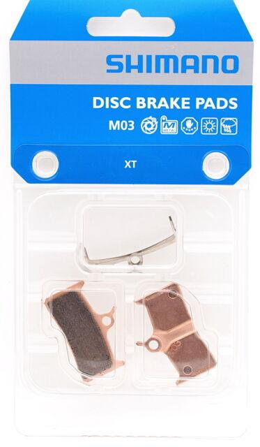 SHIMANO M03 Disc Brake Metal Pads Set for Deore XT BR-M755