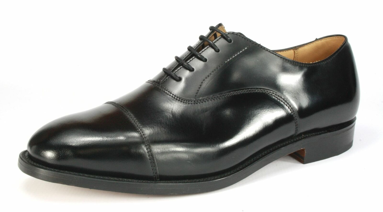 Charles Horrel Handmade in England Welted Cap Formal Mens Leather sole schuhe