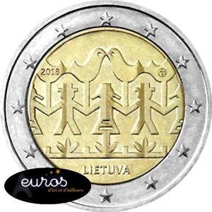 2-euros-commemorative-LITUANIE-2018-Festival-de-Chant-et-de-Danse-UNC