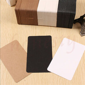 100pcs-Greeting-Blank-Card-Trading-Business-DIY-Paper-Label-Name-Tag-9cm-5-4cm