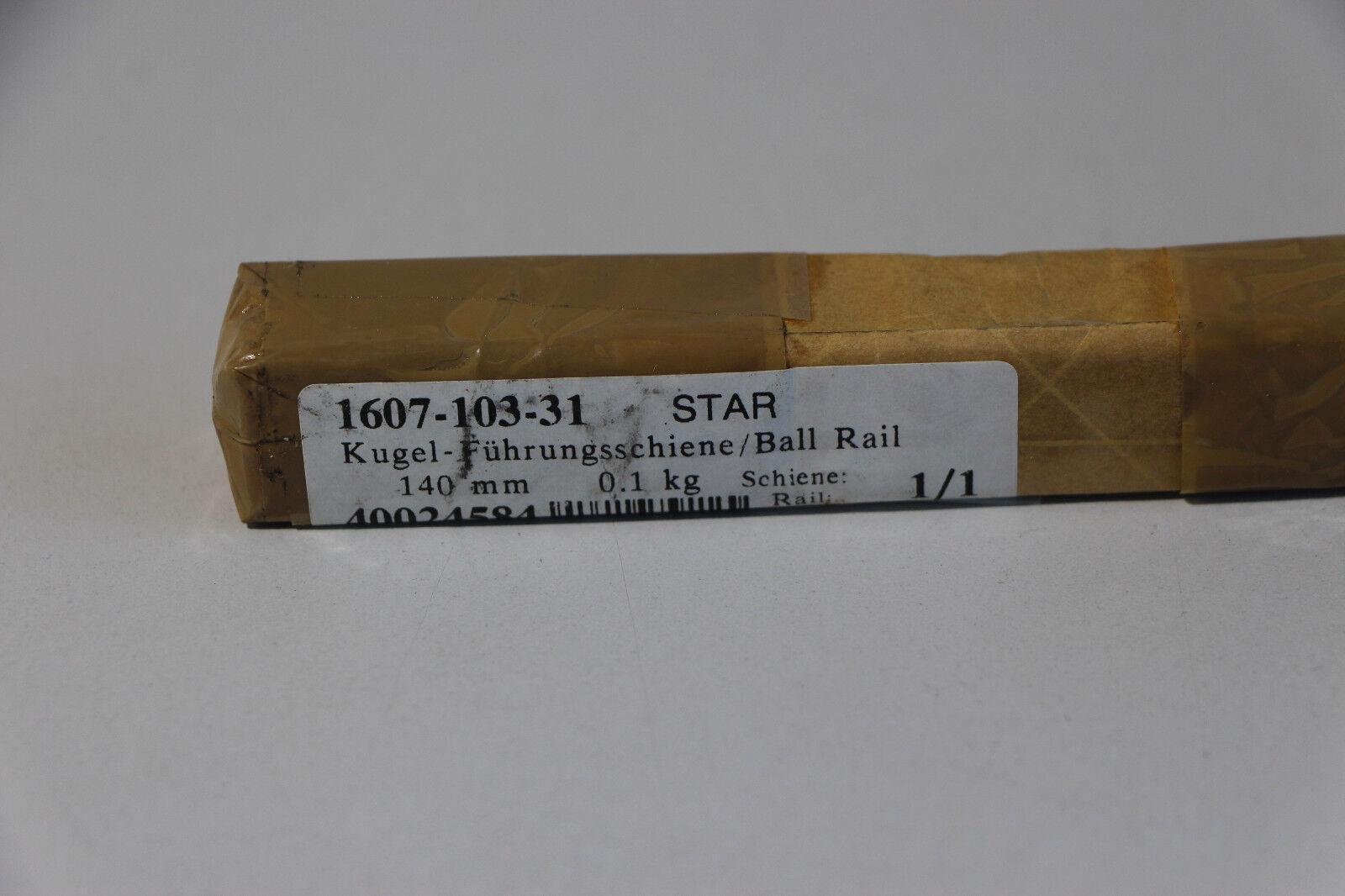 Rexroth Star bala-raíl guía/Ball Rail 1607-104-31, 1607-104-31, 1607-104-31, 140mm (c217) 7725c7
