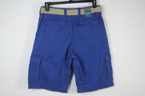 New American Rag Cargo Shorts Sz 31 Blue Relaxed Fit Mens