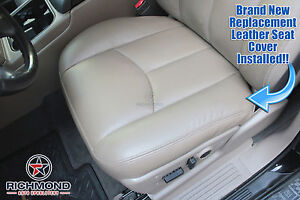 Brilliant Details About 2004 2005 2006 Gmc Sierra 1500 2500Hd Driver Side Bottom Leather Seat Cover Tan Caraccident5 Cool Chair Designs And Ideas Caraccident5Info