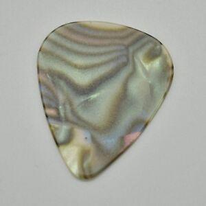 12 New Light Abalone Nacrées Guitar Picks Medium 351 Forme Celluloïd Sans Logo-afficher Le Titre D'origine