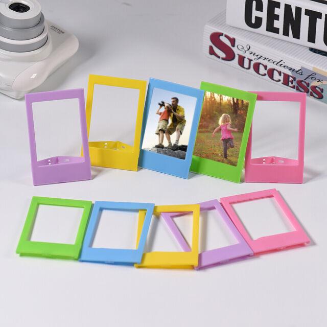 """Andoer 3"""" Mini Plastic Table Photo Frame for Fujifilm Instax mini 8 7s 90 J2X9"""