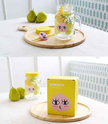 KAKAO FRIENDS Character Face Drinking Jar with Box _Original Made in Korea