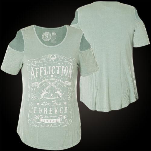 shirt Hellgrün Damen T Music Live Affliction Ppxwf