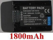 Batería 1800mAh tipo NP-FH60 NP-FH70 Para Sony DCR-SR52