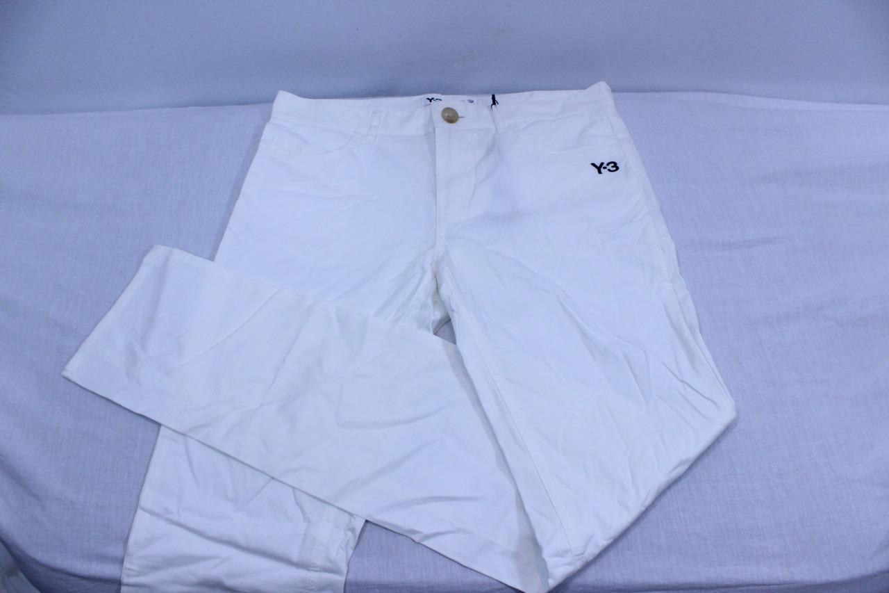 260 Y-3 Yohji Yamamoto x Adidas Womens Regular White Pant E57640 (BRAND NEW) Y3