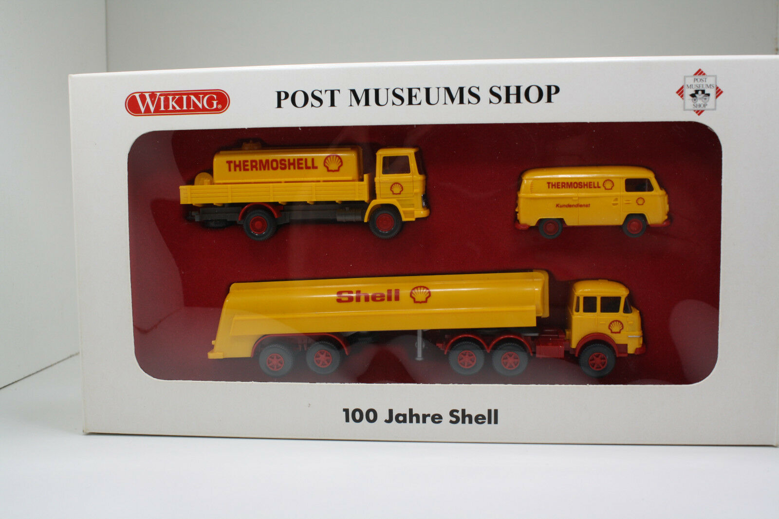 100 Jahre Shell - Post Post Post Museums Shop Set (Wiking BB S 71 2bcad9