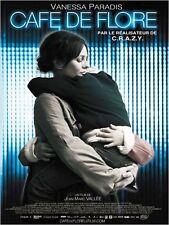 Affiche 40x60cm CAFÉ DE FLORE 2012 Vanessa Paradis, Kevin Parent NEUVE