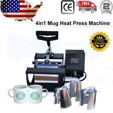 New Listingcup Heat Press Machine Transfer Sublimation For Diy 11oz 12oz 17oz Coffee Mug Us