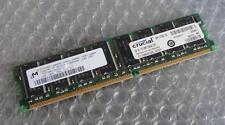 1GB Micron MT16VDDT12864AY-335D3 PC2700 333MHz 184P DDR1 Non-ECC Computer Memory
