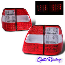 [LED] For 1998-2005 Toyota Land Cruiser FJ100 Red Lens Tail Lights 4PC Combo Set