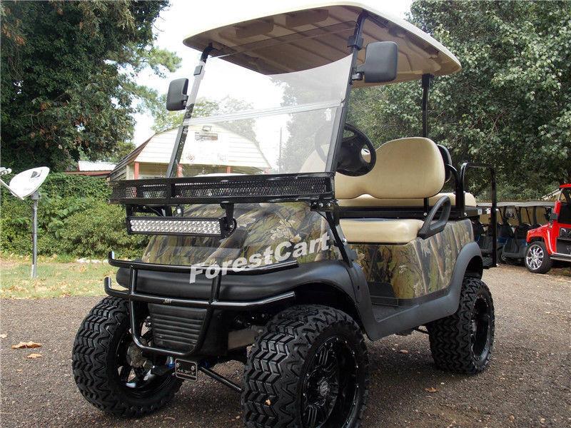 22 Led Light Bar 2x 4 Pods Wir For Golf Cart Diy Ezgo Club