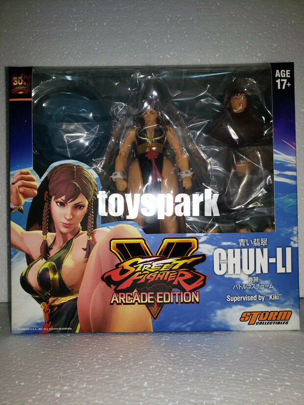 Storm Collectibles NYCC 2018 Street Fighter CHUN LI Battle Costume action figure