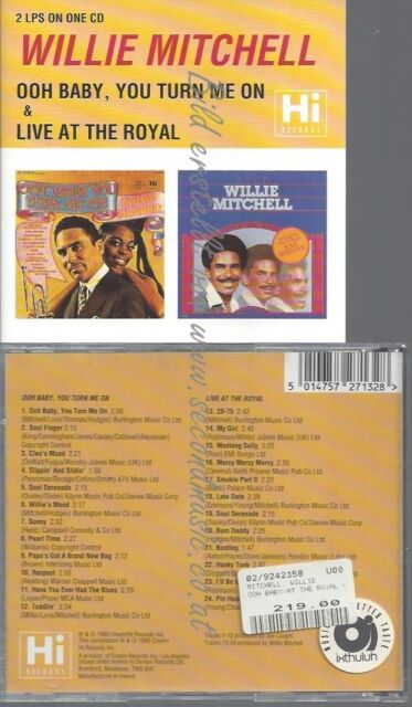CD--IV | IMPORT/ WILLIE MITCHELL--OOH BABY YOU TURN ME ON