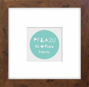 Photo-Frame-Instagram-Rustic-Square-Brown-Dark-Wood-Effect-8x8-034-for-5x5-034
