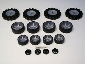 KNEX-WHEELS-LOT-Small-Medium-Large-Tires-1-75-2-5-3-5-034-Mixed-Bulk-Parts-Pieces