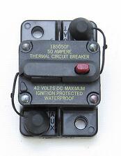 Blue Sea Systems L661-7100 50 Amp Waterproof Marine Circuit Breaker 50 Amp Boat