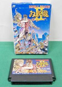 Nes Double Dragon 2 The Revenge Fake Boxed Famicom Japan Game