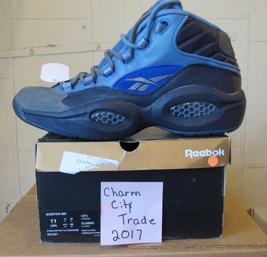 Men's Nike Reebok Question MID V61041 Comfortable The latest discount shoes for men and women