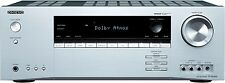 Onkyo TX-SR444 (S) 7.1-Kanal Heimkinoreceiver (Dolby Atmos, DTS-HD, 4K, Ultra HD